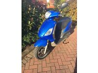 PIAGGIO FLY 50cc - 2 STROKE VESPA SCOOTER 50 2T - Good Cond just needs MOTing - ALL SENSIBLE OFFERS