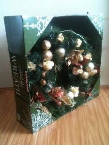 Deluxe Christmas Wreath ** Jumbo X-Large 80cm ** Bexley Rockdale Area Preview