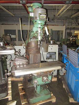 Bridgeport Series 2hp Variable Speed Ram Type Vertical Turret Milling Machine