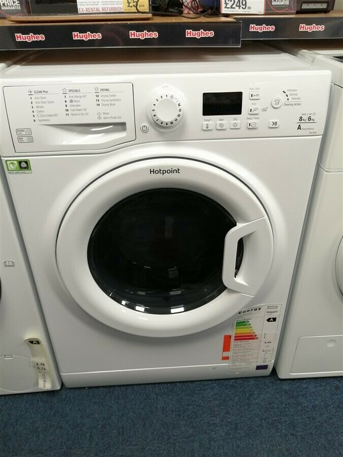 Hotpoint FDL8640P 8kg Wash & 6kg Dry Washer Dryer (IP-IS148046016)