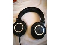 Audio Technica ATH M50X Headphones