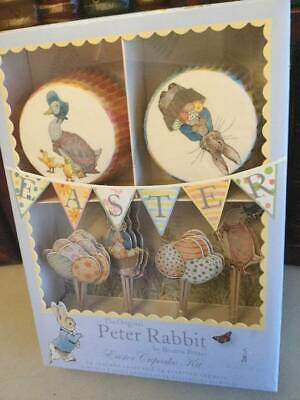 PETER RABBIT Baby Shower Birthday CUPCAKE KIT Beatrix Potter 24 cases + toppers - Halloween Baby Shower Cupcakes