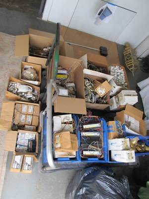 Huge Lot Of New And Used Ballasts And Electrical Parts.