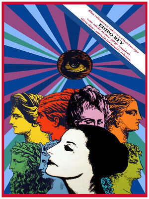 Movie Poster For Film Edipo Rey Alicia Alonso Ballet Dance Room Art Decor Design