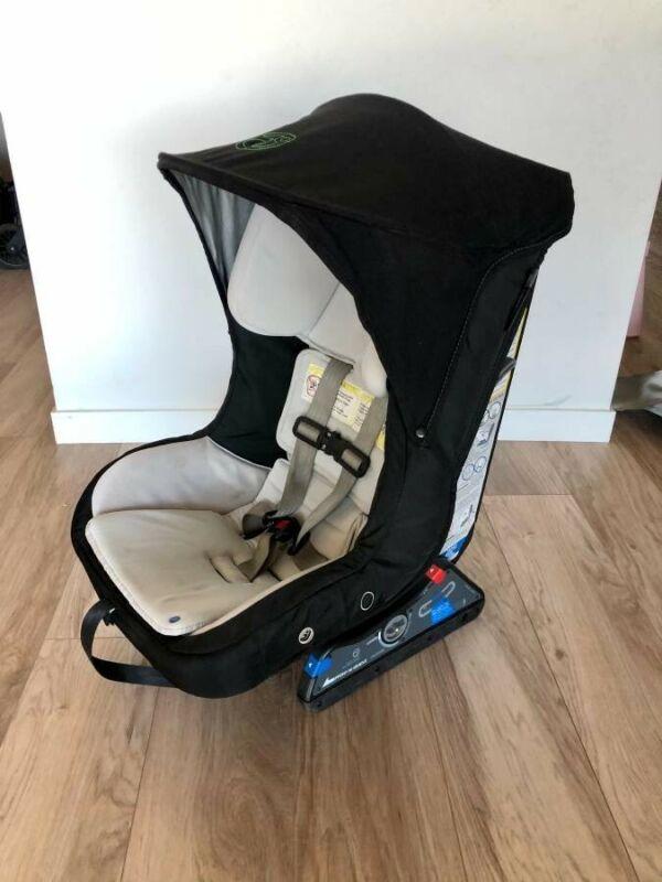 Orbit baby toddler car seat shade in black RARE