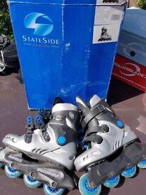 Stateside Streetwolf Blue Skates UK Size 3