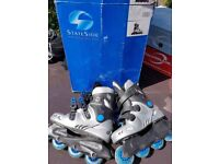 Stateside Streetwolf Blue Skates UK Size 3