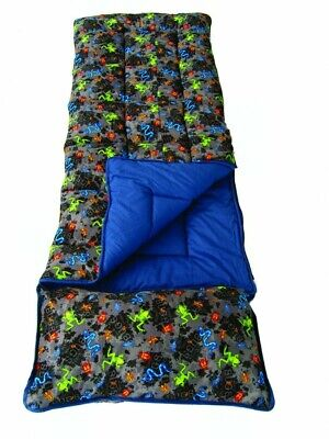 Sleeping Bag With Pillow For Kids (Sunncamp Junior Childrens Kids Bugs Sleeping Bag With Pillow & Stuff)
