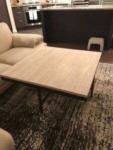 Coffee table, solid stone