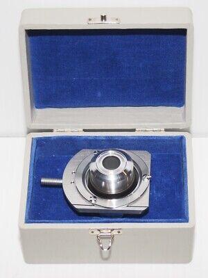 Reichert Zetopan Microscope Immersion Darkfield Condenser 1.181.42 N.a.