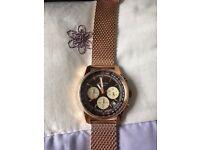 Mens Seconda watch boxed like new.