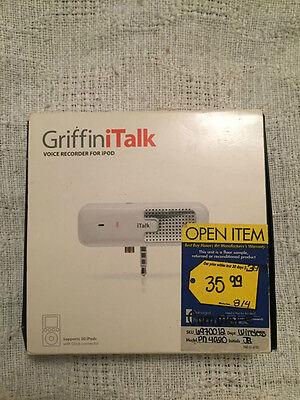 Griffin iTalk Voice Recorder for iPod (4020-Talk)