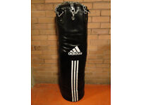 NEW EX DISPLAY ADIDAS PU PUNCH BAG 4 FT APPROX 33KG'