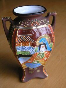 Vintage-Japanese-Kutani-Satsuma-Moriage-Art-Nouveau-Handled-Vase-Japan-6-25