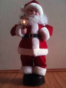 Santa Figure with Light Up Lantern Bexley Rockdale Area Preview