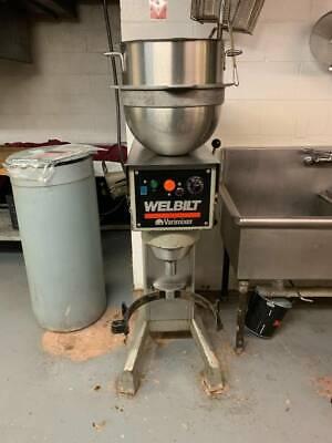 Welbilt Varimixer W30 Commercial 30qt Mixer With Accessories