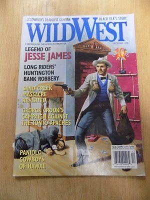 (VINTAGE MAGAZINE~WILD WEST~AMERICAN FRONTIER~DEC. 1998~JESSE JAMES)