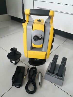 Trimble S3 2 Robotic Total Station With 360 Prism And Accessories. Great Shape.