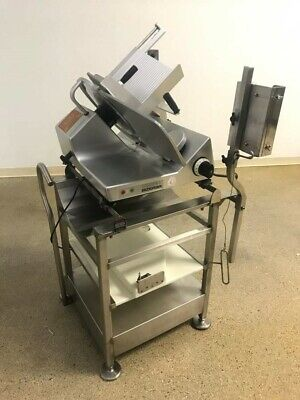 Bizerba Se12 Slicer Slicer Stand With Extra Cutting Board Barely Used