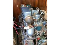 Perkins Perama M30 Marine Diesel Engine 30 HP , 3 Cyl with Transmission
