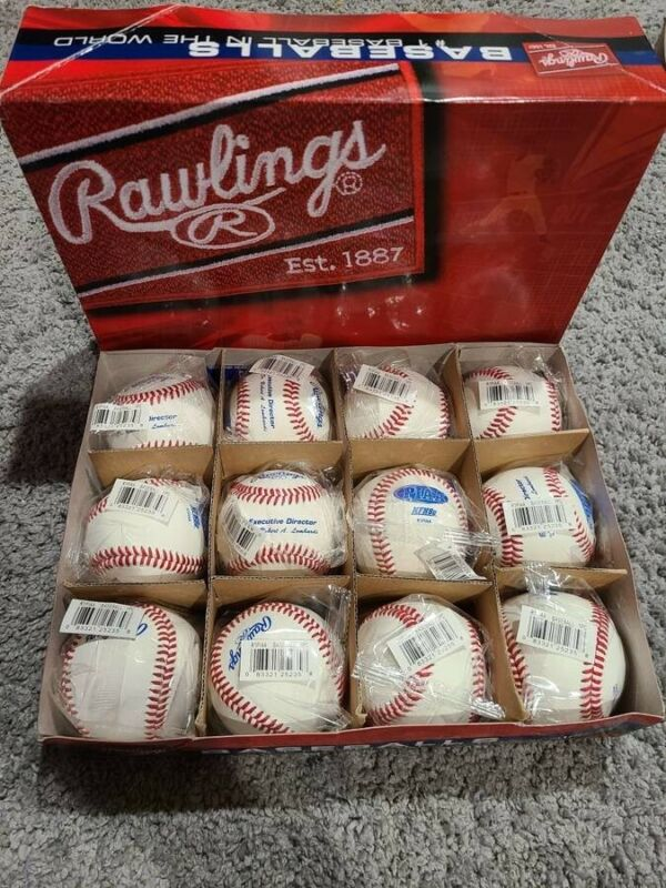 12 Rawlings NFHS PIAA Baseball (Brand New Wrapped, Multiple Boxes Available!)