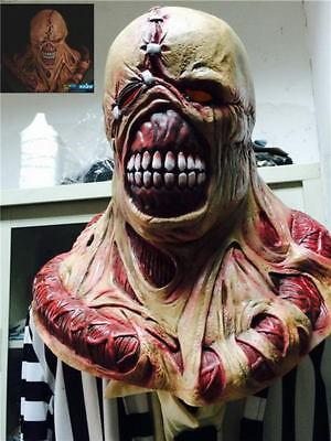 Resident Evil 3 Nemesis Mask Zombie Game Cosplay Prop Replica Fancy Dress - Nemesis Mask Resident Evil