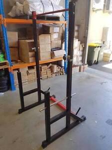 Ex-Demo Armortech Squat Rack-Strong-Durable-Compact Design Malaga Swan Area Preview