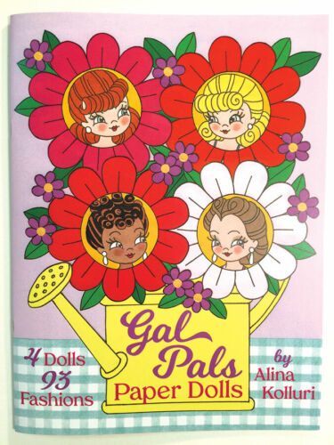 Cute and Kitschy GAL PALS PAPER DOLLS - Tons of