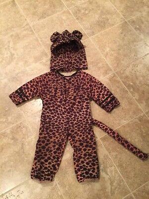 Halloween Toddler Cheetah Costume Size 18 mos- 2T