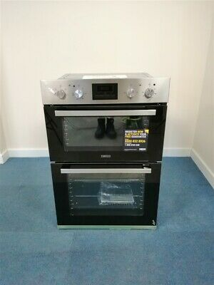 Zanussi ZOD35660XK 108L Built-In Electric Double Oven (D36-ID707933025)