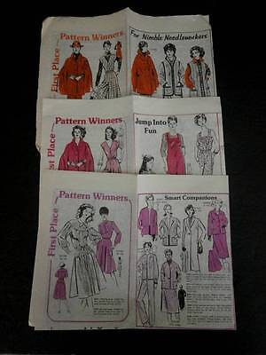 VTG 80's Mail Order First Place Winners Pattern Catalogs Lot of 3 Women Child - Baby Mail Catalog