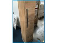 Victoria Plumb Designer wall mounted cabinet in drift oak finish BRAND NEW BOXED RRP £189