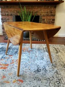 ERCOL drop leaf dining table