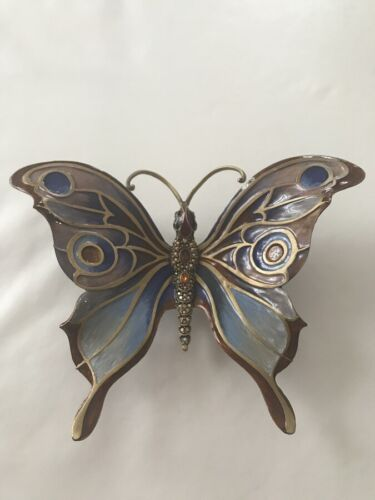 """JAY STRONGWATER """"Audromeda"""" Butterfly Figurine - Retail $950"""