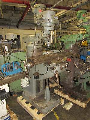 Bridgeport Series 1-2hp Variable Speed Ram Type Vertical Turret Milling Machine