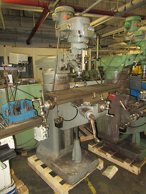 Bridgeport 2hp Series Ivariable Speed Vertical Milling Machine- Riser