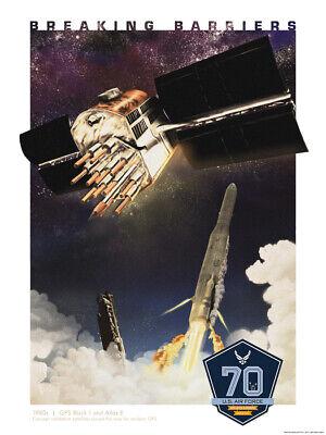 US AIR FORCE McDonnell Douglas Delta II rocket launch NAVSTAR GPS 8X12 PHOTO