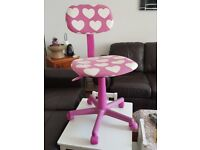 Beautiful Pink office chair