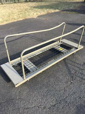 Used 26x78 Utility Transporting Double Handled Cart