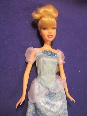 "Disney Dolls ~❤️~ Cinderella in Blue Gown Barbie Size 11.5"""