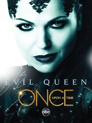 The Evil Queen Once Upon A Time (Once Upon A Time poster print  : The Evil Queen : 11 x 17)