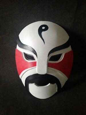 Handmade Fullmetal Alchemist Lan Fan Mask Cosplay for Sale - Masquerade Mask For Sale