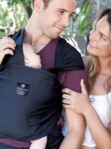 Hugabub Wrap - Organic Lightweight Wrap Carrier Curl Curl Manly Area Preview