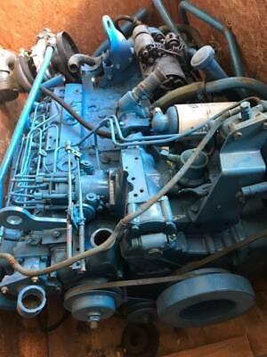Perkins Ht 6.3544 M Marine Diesel Engine 185 Hp Pair W Borg Warners