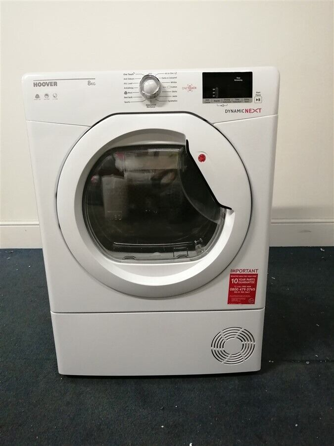 Hoover DXC8DE 8kg Load Condenser Tumble Dryer - White (IP-IS287949888)
