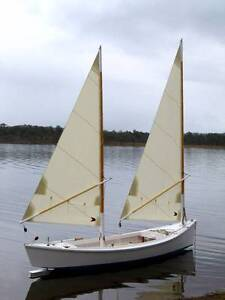 Twin masted wooden daysailer Paddington Brisbane North West Preview