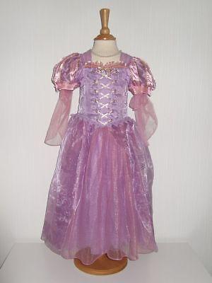 Rapunzel Kleid Original Disney Gr. 5/6 116 122 Kostüm Fasching ()