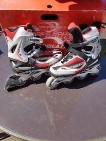 Rollerblade Spark Red Skates