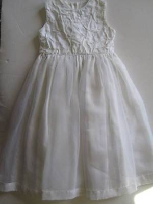 EUC STRASBURG Heirloom Collection 6Y White Formal Dress Easter Flower Girl - Heirloom Easter Dresses