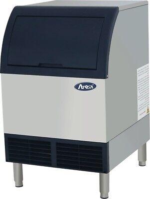 Atosa Yr280-ap-161 Undercounter Ice Maker W 88 Lb Storage Bin Cube Styler 283lb